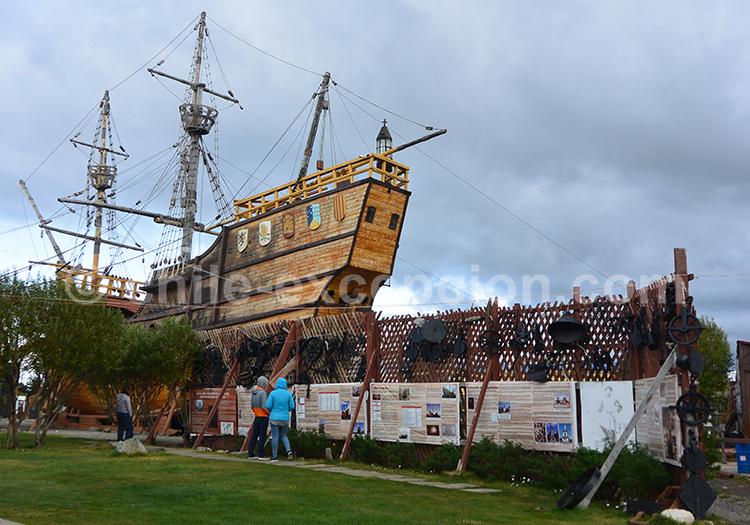 Visiter le musée Nao Victoria de la ville de Punta Arenas en Patagonie Australe, Chili