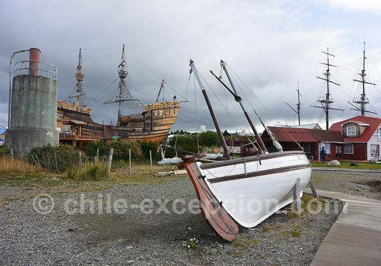 Découvrir le musée Nao Victoria, Punta Arenas,