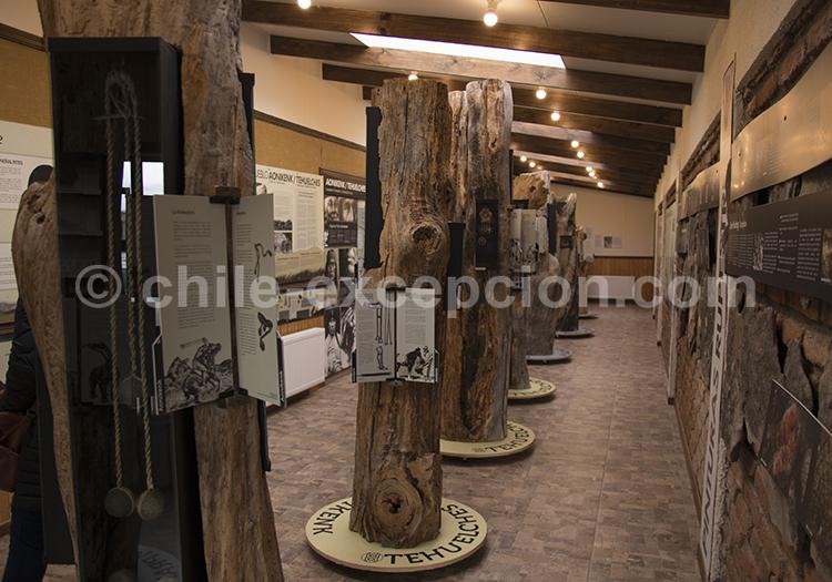 Musée historique municipal de Puerto Natales, Chili avec l