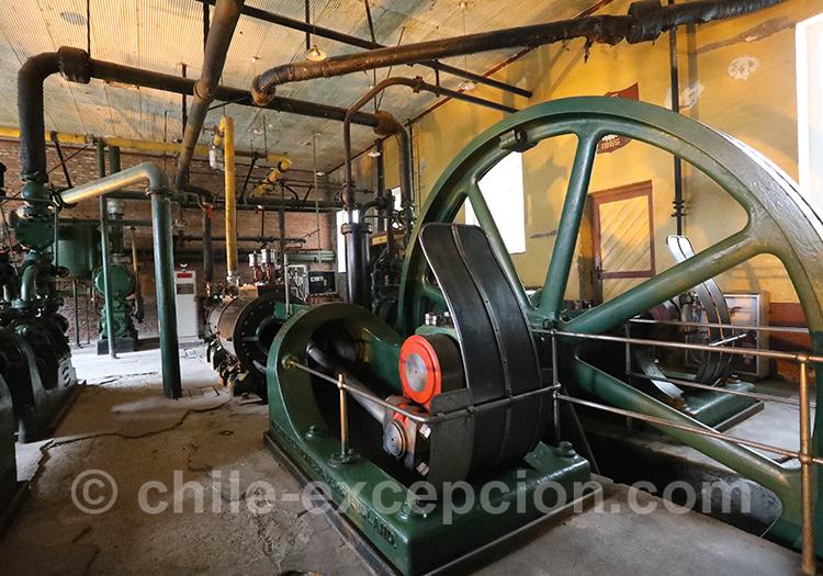 Machines du musée historique Frigorifico, Bories
