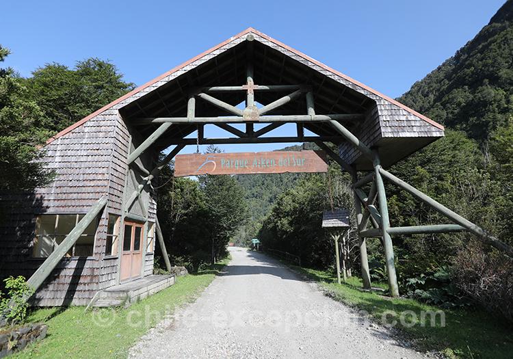 Parc Ayken et lac Riesco, Chacabuco, Coyhaique Chili avec l