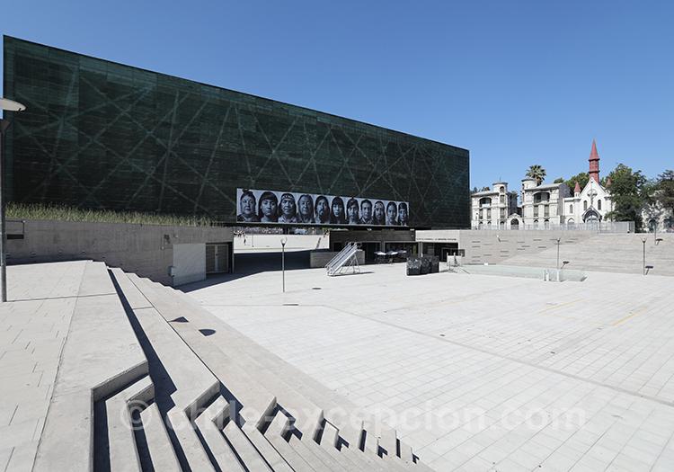 Musée de la Mémoire, Santiago de Chile avec l