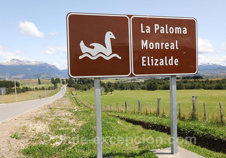 Lac Elizalde, Coyhaique, Chili avec l
