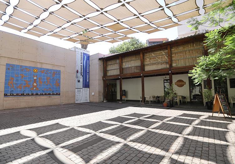 Musée des arts visuels de Santiago de Chile avec l
