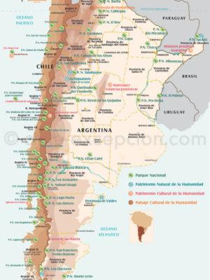 Parcs Chili et Argentine