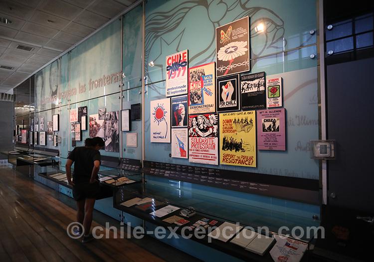 Victimes de la dictature, Santiago de Chile, musée de la mémoire, Santiago de Chile