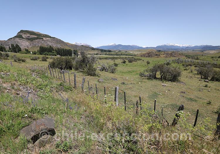 Coyhaique, région de la Patagonie du Chili