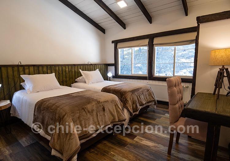 Découvrir les chambres de l'hôtel The Patagonian Lodge, Coyhaique, Chili