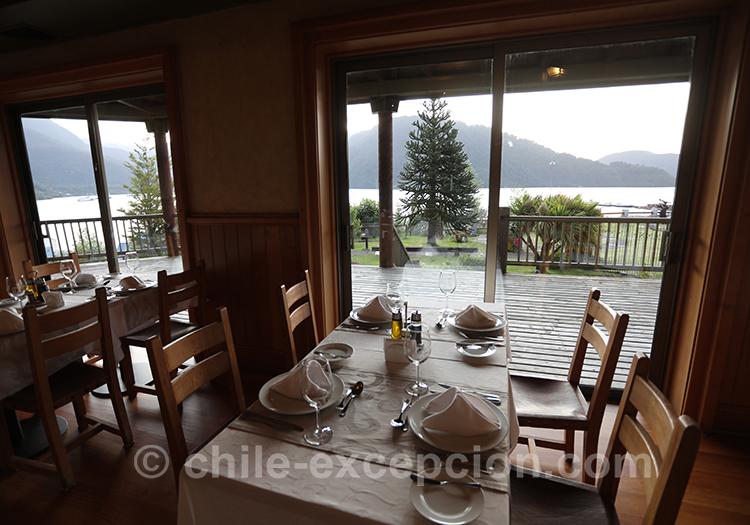 Diner au restaurant Loberias del Sur, Chili