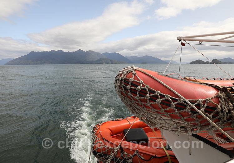 Le Fjord Aysen en Patagonie chilienne