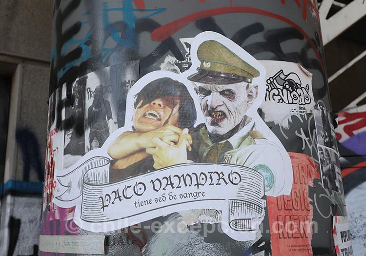 La haine pour l'armée au Chili