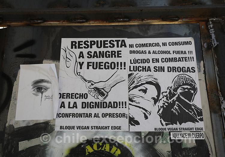Politique et lutte au Chili