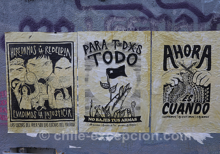 Lutte pour tous au Chili