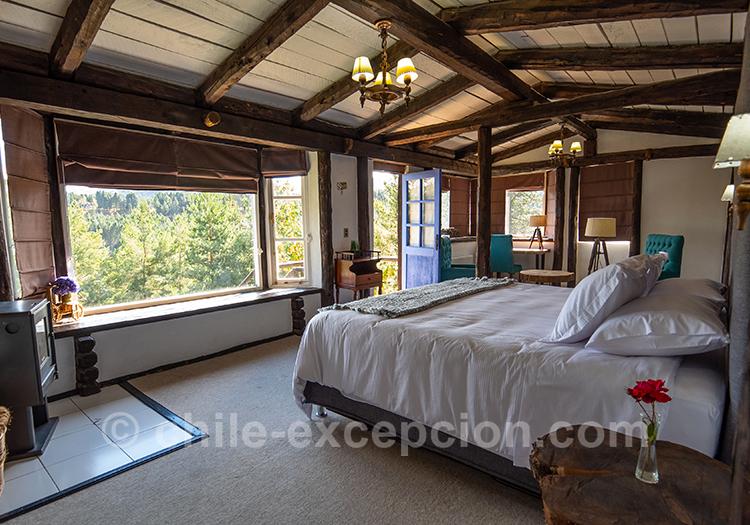 Chambre avec vue magnifique sur la Patagonie chilienne : The Patagonian Lodge, Coyhaique, Chili