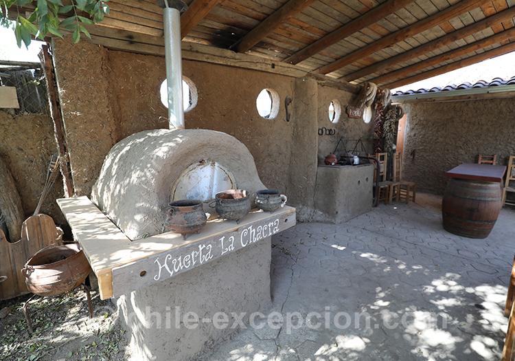 Four à pain de la maison d'hôte Caliboro, Chili avec l'agence Chile Excepción