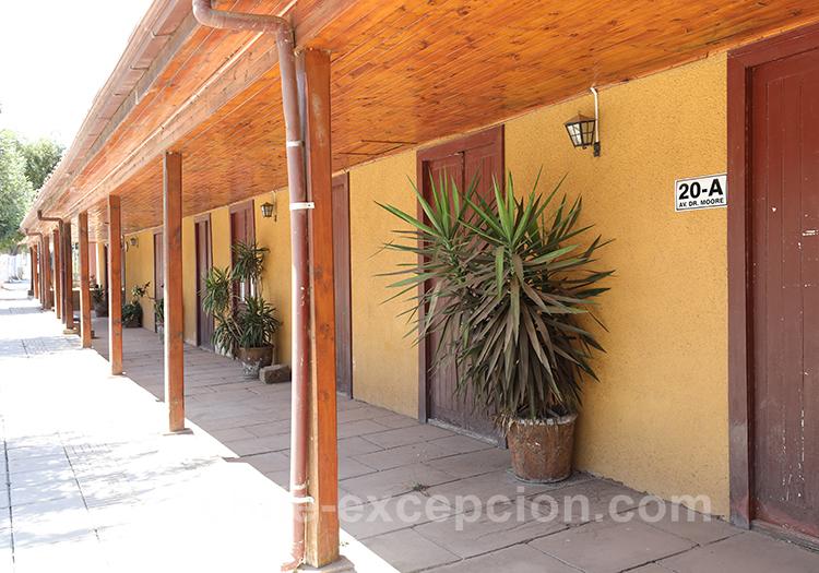 Sous le haut-vent des maisons de Paredones, centre du Chili