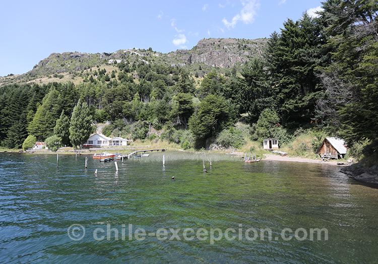 Lac du Chili, lac Elizalde, Coyhaique