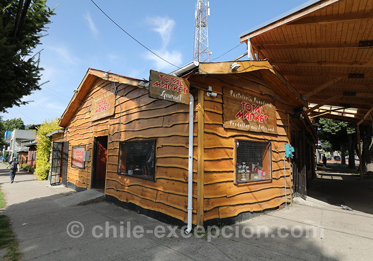 Chalet en bois au Chili, Coyhaique avec l'agence de voyage Chile Excepción