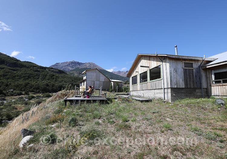 Où dormir dans le parc national Cerro Castillo, Chili avec l'agence de voyage Chile Excepción