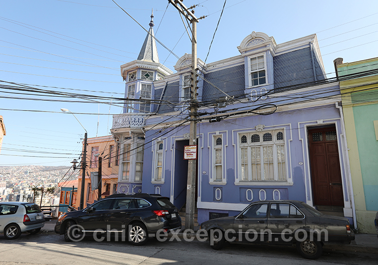 Maison du Cerro Artilleria, Valparaiso