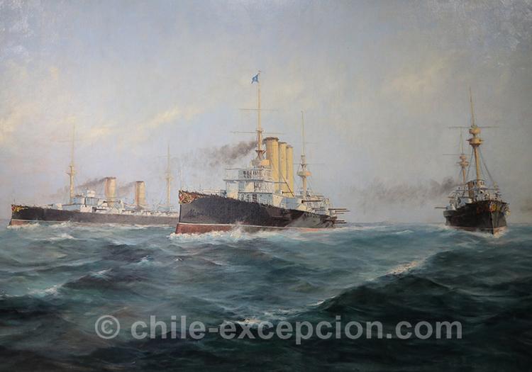 Abrazo del Estrecho 1899