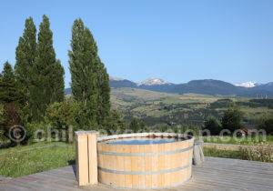 Hot tub hôtel Patagonia House, Aysén