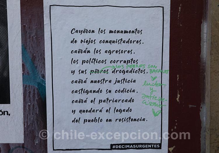 Poésie et politique au Chili