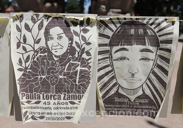 Affiches politiques au Chili