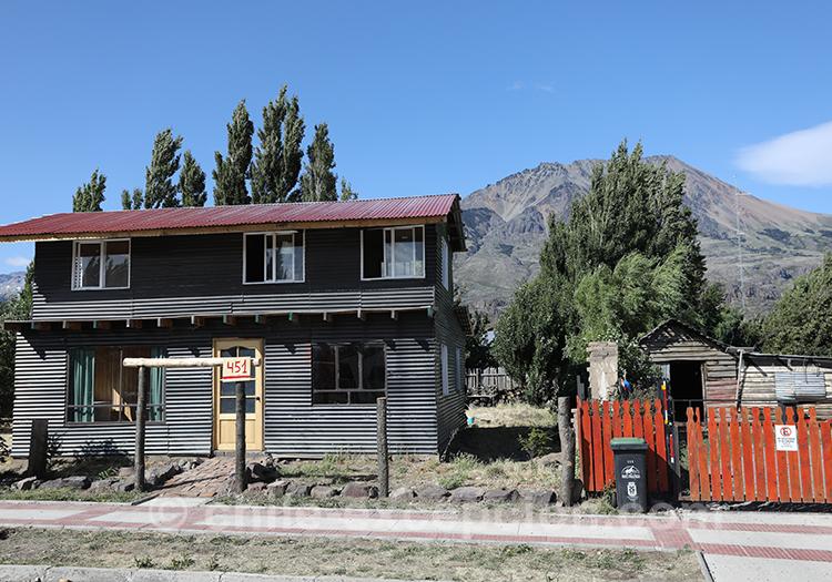 Village de Patagonie australe du Chili, Puerto Ibañez