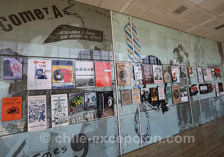 Propagande de la dictature, musée de la mémoire, Santiago de Chile