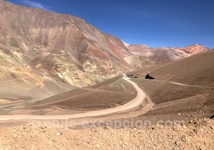 Paso Agua Negra, passage de frontière entre le Chili et l'Argentine