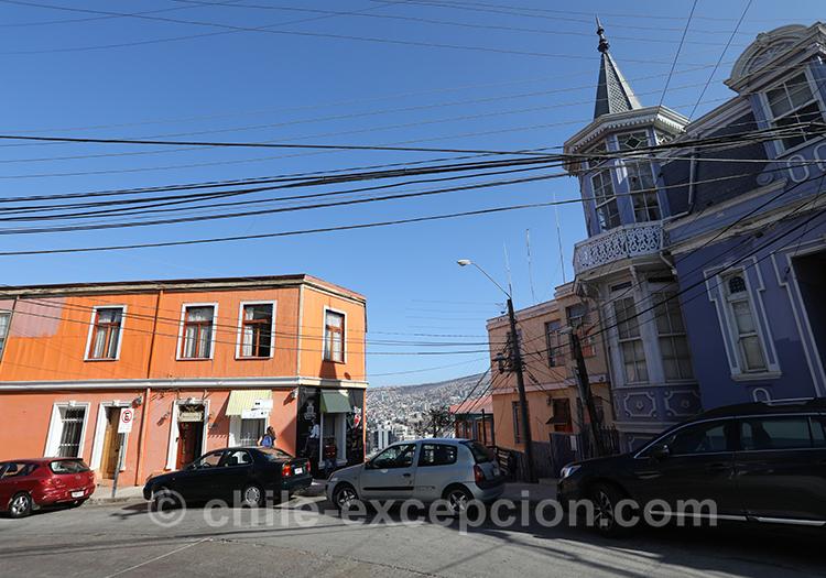 Que voir au Cerro Artilleria, Valparaiso