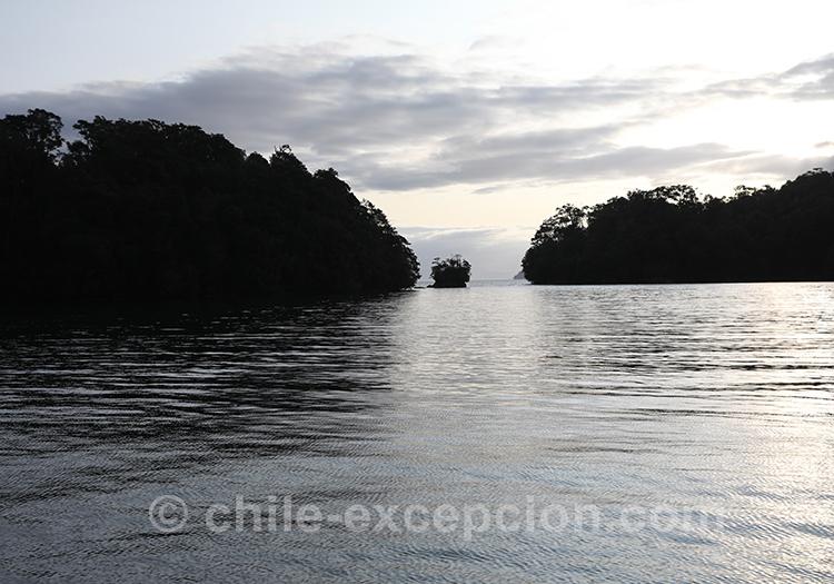 Visiter le monument naturel Cinco Hermanas, Chili