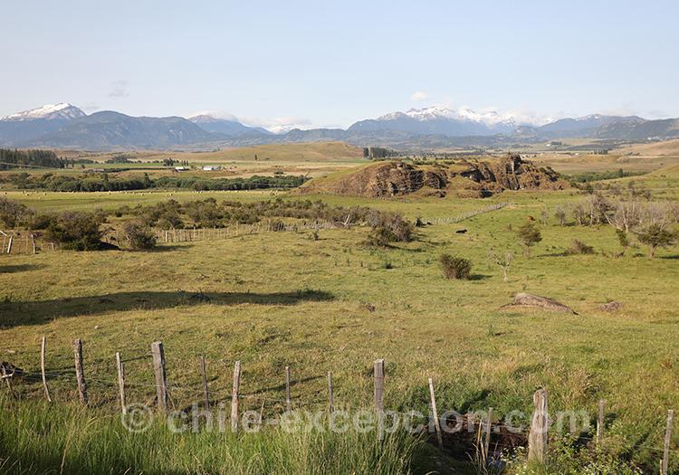 Paysages incroyables de Patagonie au Chili, Coyhaique