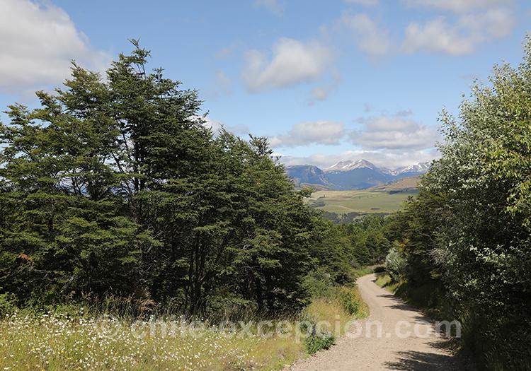 Magnifique vue sur le parc national de Coyhaique, Chili
