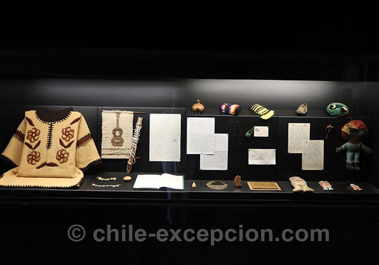 Objet en exposition de la mémoire du Chili, Objet en exposition de la mémoire du Chili, musée