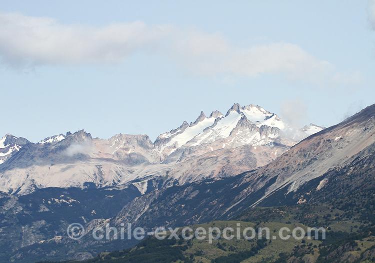 Paysages de Patagonie australe au Cerro Castillo