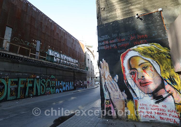 Se revendiquer politiquement au Chili