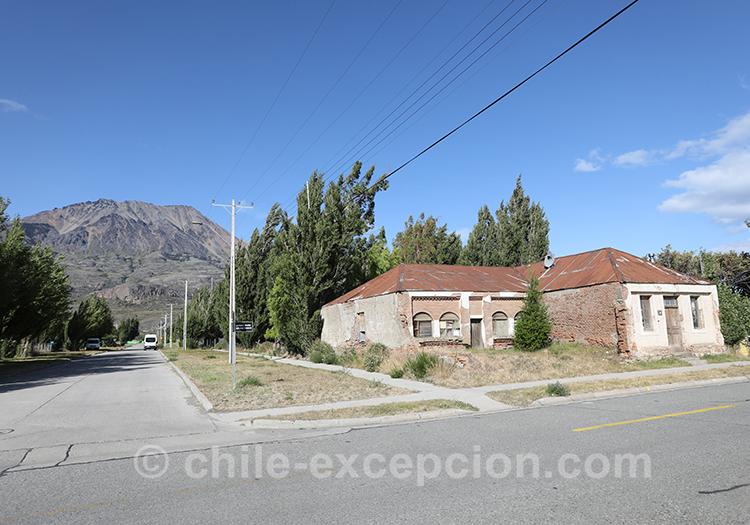 Petit village de Puerto Ibañez, Chili