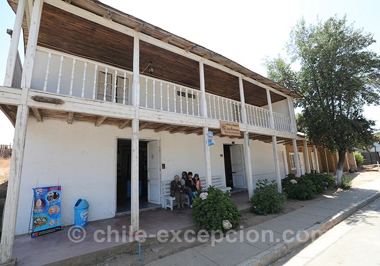 Maison traditionnelle à Paredones, Chili