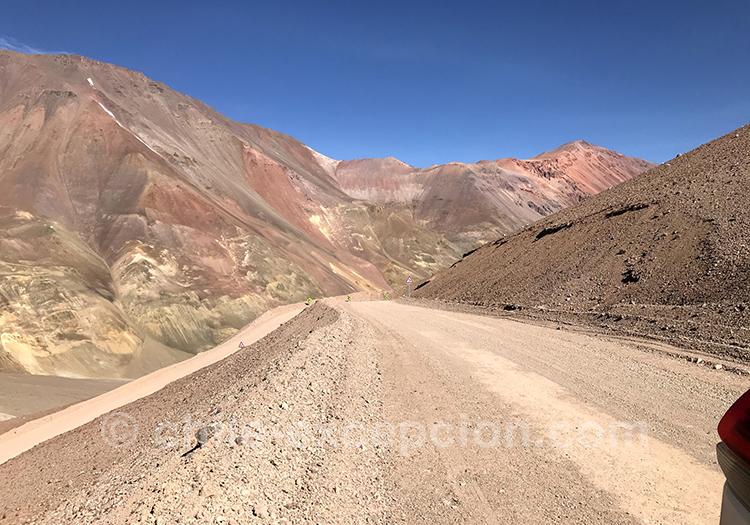 Aller au Chili depuis le col de Agua Negra, Argentine
