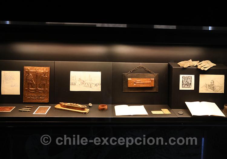 Objets de la dictature, musée de la mémoire, Santiago de Chile, Chili