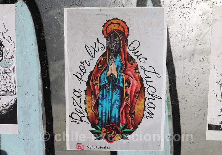 Prière pour ceux qui luttent, Chili