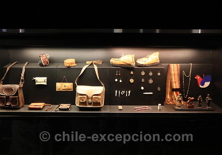Exposition d'objets de la dictature, musée de la mémoire