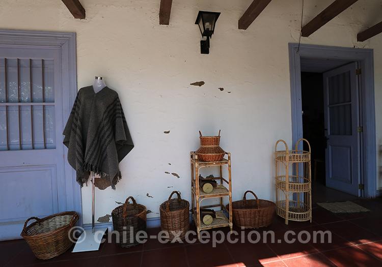 Entrée typique de huasos à Lolol au Chili