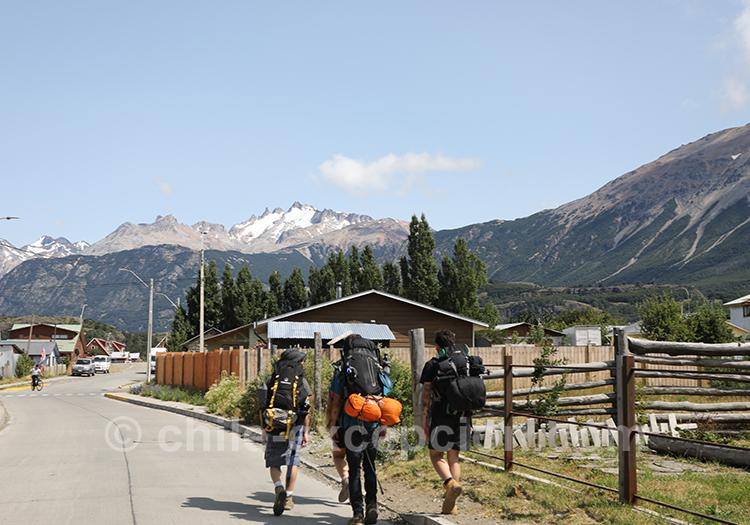 Voyager à vélo au Chili, Patagonie australe, Cerro Castillo