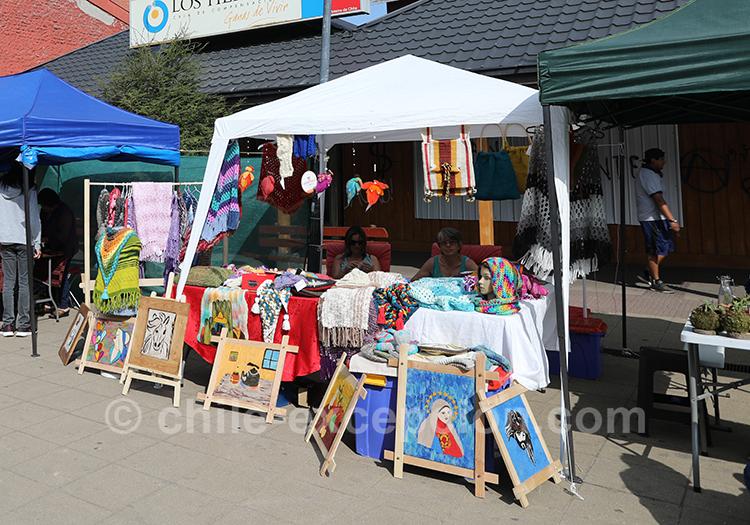 Petit marché de Coyhaique, Chili