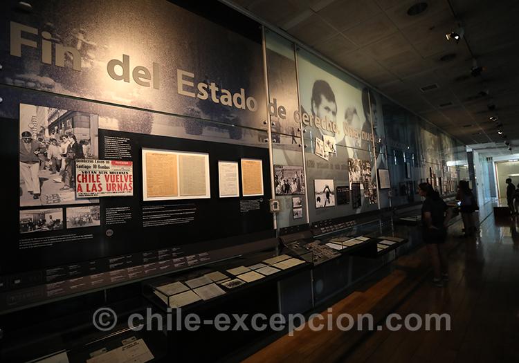 Que reste-t-il de la dictature au Chili, Musée de la mémoire