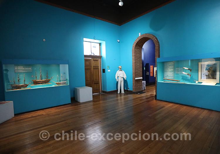 Découvrir le musée maritime national, Valparaiso