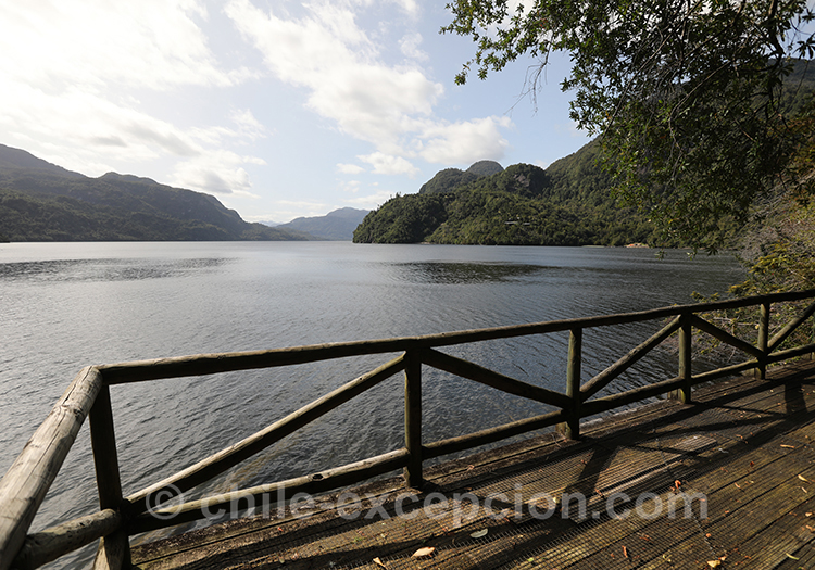 Lago Riesco, parc Ayken, Chili